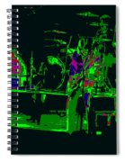 Bto And Colors Fly In Spokane 1976 Spiral Notebook