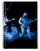 Bto In Spokane 1976 Blue Art Spiral Notebook