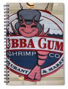 Bubba Gump Shrimp Co. Spiral Notebook