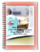Bubbas Seafood House - Crabs Spiral Notebook