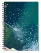 Bubble Abstract Spiral Notebook