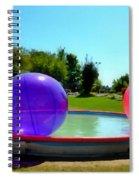 Bubble Ball 1  Spiral Notebook