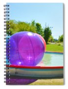 Bubble Ball 2 Spiral Notebook