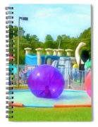 Bubble Ball 4   Spiral Notebook