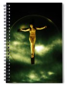 Bubble Crucifix Spiral Notebook