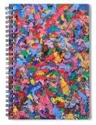 Bubble Gum Girl Spiral Notebook