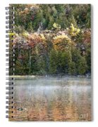 Bubble Pond Acadia National Park Spiral Notebook