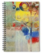 Bubble Tree - 43ff04 Right Spiral Notebook