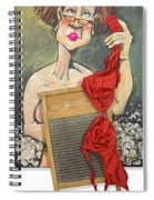 Bubbles Aka Washboard Abs Spiral Notebook