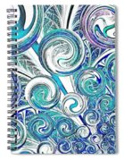 Bubbles Spiral Notebook