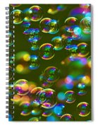 Bubbles Bubbles And More Bubbles Spiral Notebook