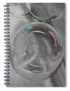 Bubbles In The Sink Spiral Notebook