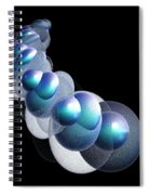 Bubbles On The Rhosddu Road Spiral Notebook