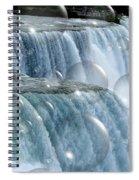 Bubbles Over Niagara Falls Spiral Notebook