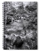 Bubbling Water Brook In The Smokies Spiral Notebook