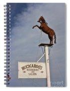 Buckaroo's Saloon Spiral Notebook