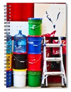 Buckets Of Color Spiral Notebook