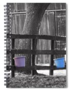 Buckets Spiral Notebook