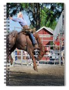 Bucking Bronco Haven  Spiral Notebook