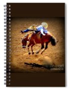 Bucking Broncos Rodeo Time Spiral Notebook