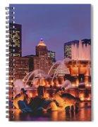 Buckingham Fountain #3 Spiral Notebook