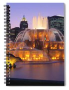Buckingham Fountain, Chicago, Illinois Spiral Notebook