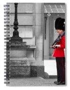 Buckingham Palace Guards Spiral Notebook