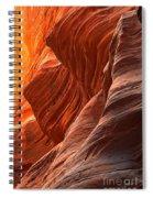 Buckskin Gulch Slot Canyon Fire Spiral Notebook