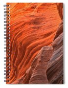 Buckskin Walls Of Fire Spiral Notebook
