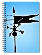 Bucksport Weathervane Spiral Notebook