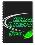 Bud Light Lime 2 Spiral Notebook