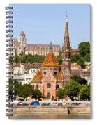 Buda Reformed Church In Budapest Spiral Notebook