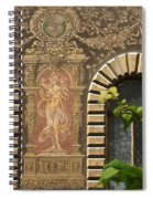 Building Exterior Spiral Notebook