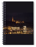 Budapest At Night Spiral Notebook