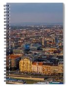 Budapest Panorama Spiral Notebook