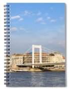 Budapest Skyline Spiral Notebook