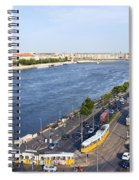 Budapest Street Traffic In Hungary Spiral Notebook