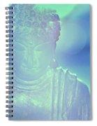 Buddah Bokeh Spiral Notebook