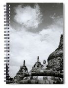 Buddha And Stupas Spiral Notebook