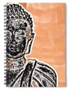 Buddha Face Spiral Notebook