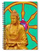 Buddha In The Grove Spiral Notebook