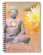 Buddha Of Compassion Spiral Notebook