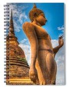 Buddha Statue Spiral Notebook
