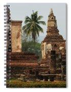 Buddha Sukhothai Thailand 2 Spiral Notebook