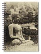 Buddha Sukhothai Thailand 5 Spiral Notebook