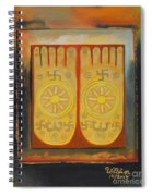 Buddha's Feet Spiral Notebook