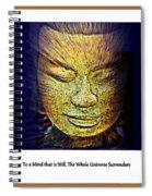 Buddhas Mind Spiral Notebook