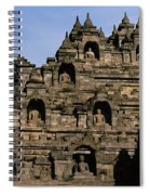 Buddhas Of Borobudur Spiral Notebook