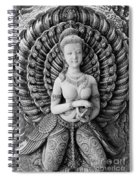 Buddhist Carving 02 Spiral Notebook
