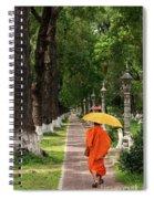 Buddhist Monk 01 Spiral Notebook